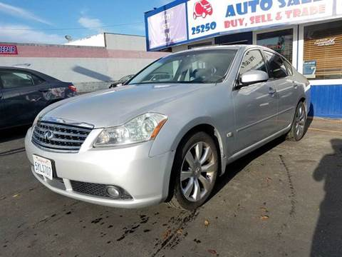 2007 Infiniti M35 for sale at Lucky Auto Sale in Hayward CA