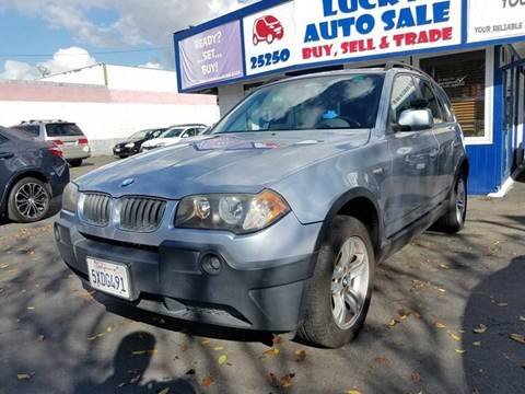 2004 BMW X3 for sale at Lucky Auto Sale in Hayward CA