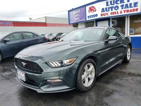 2015 Ford Mustang for sale at Lucky Auto Sale in Hayward CA
