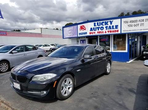 2013 BMW 5 Series for sale at Lucky Auto Sale in Hayward CA
