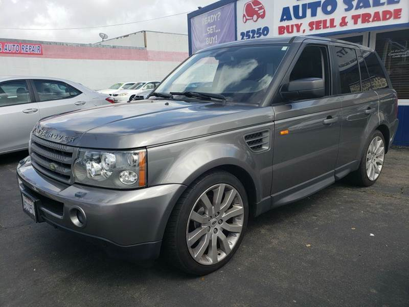 2008 Land Rover Range Rover Sport for sale at Lucky Auto Sale in Hayward CA