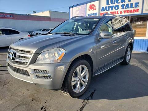 2012 Mercedes-Benz GL-Class for sale at Lucky Auto Sale in Hayward CA