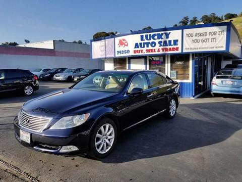 2007 Lexus LS 460 for sale at Lucky Auto Sale in Hayward CA