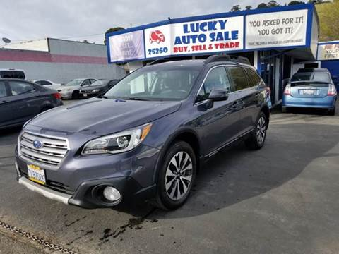 2015 Subaru Outback for sale at Lucky Auto Sale in Hayward CA