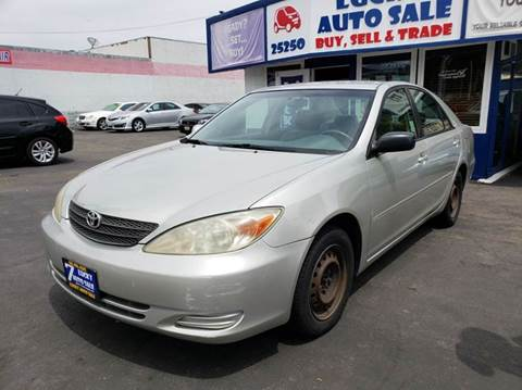 2003 Toyota Camry for sale at Lucky Auto Sale in Hayward CA