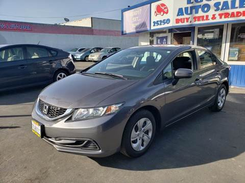 2015 Honda Civic for sale at Lucky Auto Sale in Hayward CA