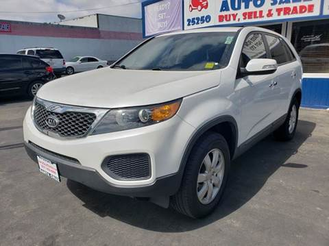 2013 Kia Sorento for sale at Lucky Auto Sale in Hayward CA