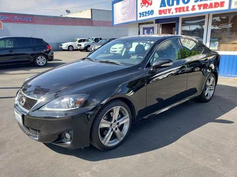 2013 Lexus IS 250 for sale at Lucky Auto Sale in Hayward CA