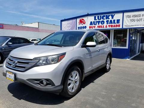 2014 Honda CR-V for sale at Lucky Auto Sale in Hayward CA