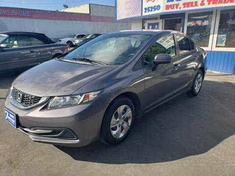 2014 Honda Civic for sale at Lucky Auto Sale in Hayward CA