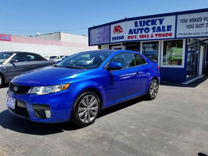 2012 Kia Forte Koup for sale at Lucky Auto Sale in Hayward CA