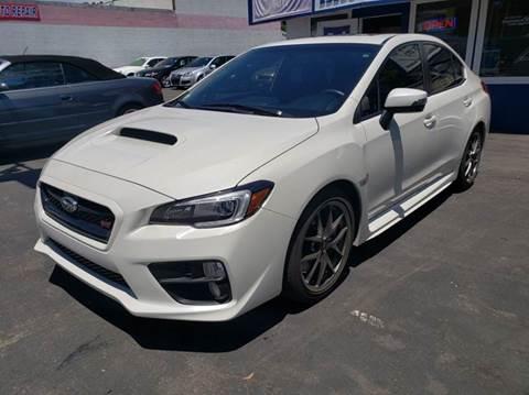 2017 Subaru WRX for sale at Lucky Auto Sale in Hayward CA