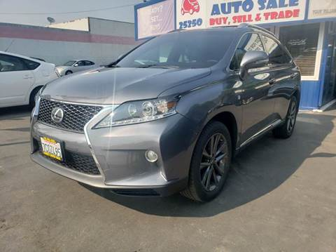 2013 Lexus RX 350 for sale at Lucky Auto Sale in Hayward CA