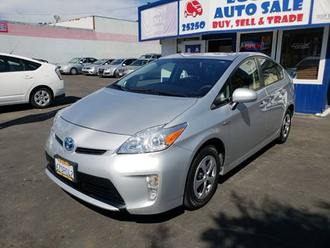 2012 Toyota Prius for sale at Lucky Auto Sale in Hayward CA