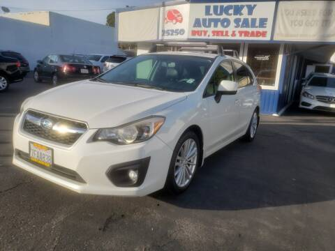 2013 Subaru Impreza 2.0i Premium for sale at Lucky Auto Sale in Hayward CA