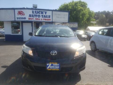 2010 Toyota Corolla LE for sale at Lucky Auto Sale in Hayward CA