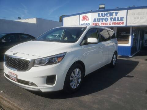 2016 Kia Sedona LX for sale at Lucky Auto Sale in Hayward CA