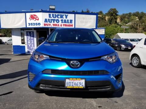 2018 Toyota RAV4 LE for sale at Lucky Auto Sale in Hayward CA