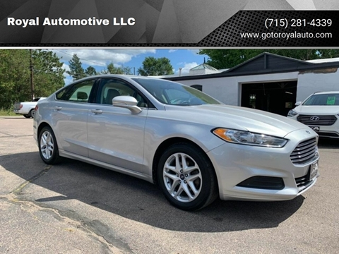 2016 Ford Fusion for sale in Waupaca, WI