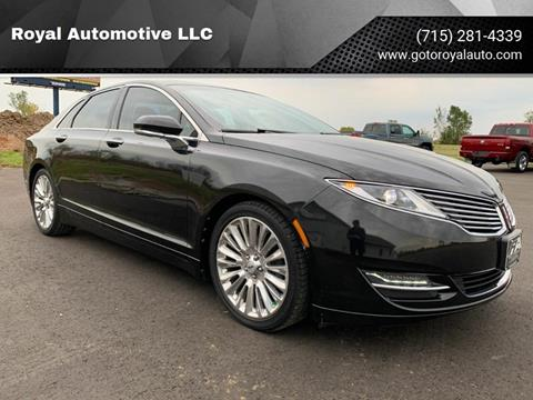 2013 Lincoln MKZ for sale in Weyauwega, WI