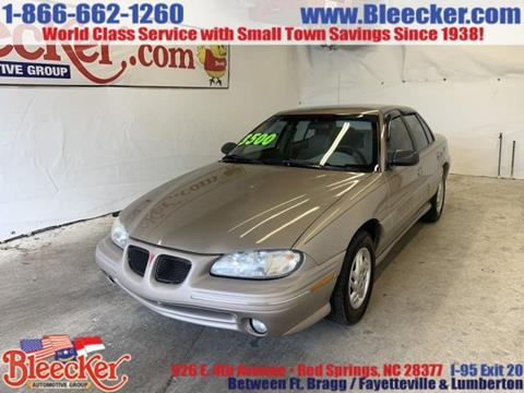 1996 Pontiac Grand Am for sale in Red Springs, NC