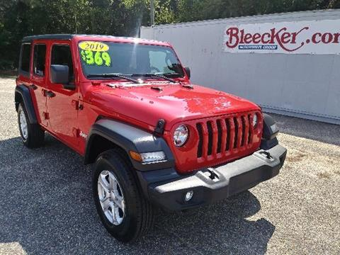 2019 Jeep Wrangler Unlimited for sale in Red Springs, NC