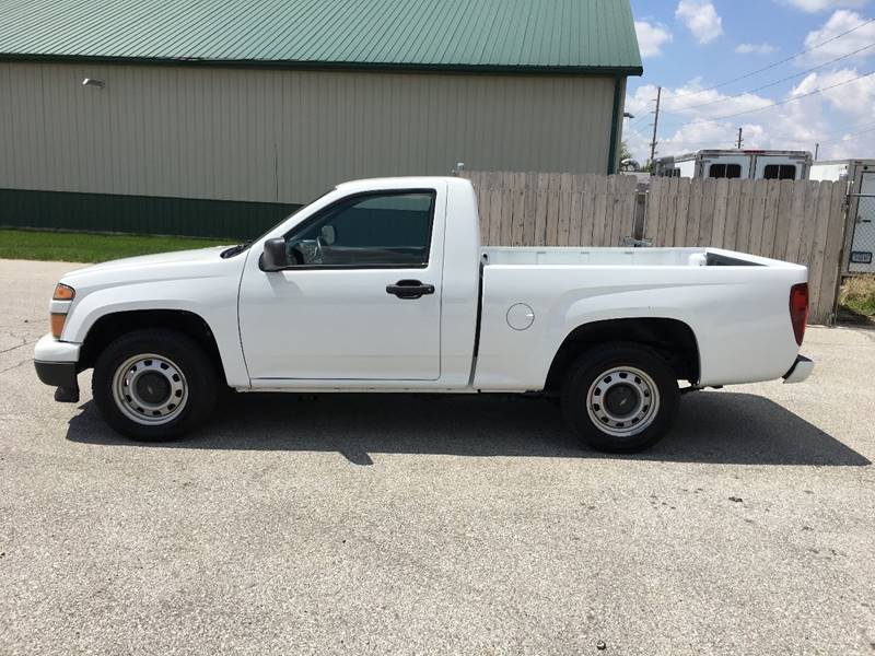 2012 Chevrolet Colorado 4x2 Work Truck 2dr Regular Cab - Des Moines IA