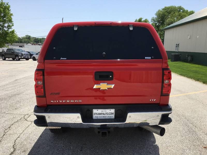 2015 Chevrolet Silverado 2500HD 4x4 LTZ 4dr Crew Cab SB - Des Moines IA