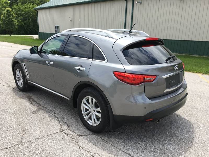 2012 Infiniti FX35 AWD Limited Edition 4dr SUV - Des Moines IA