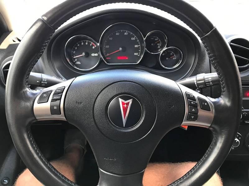 2009 Pontiac G6 4dr Sedan w/1SA - Des Moines IA