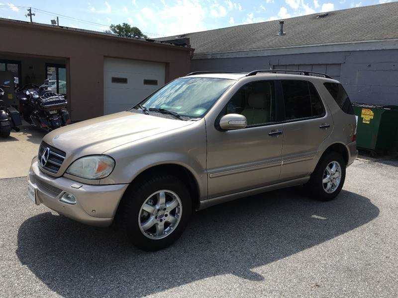 2004 Mercedes-Benz M-Class AWD ML 500 4MATIC 4dr SUV - Des Moines IA