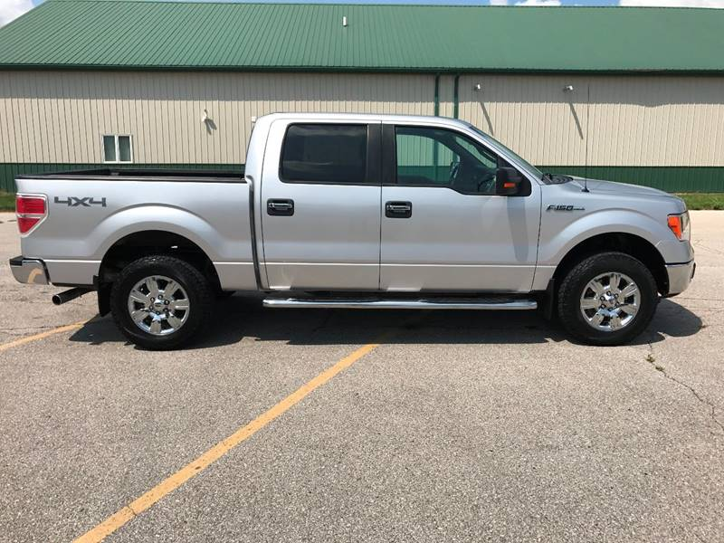 2011 Ford F-150 4x4 XLT 4dr SuperCrew Styleside 6.5 ft. SB - Des Moines IA