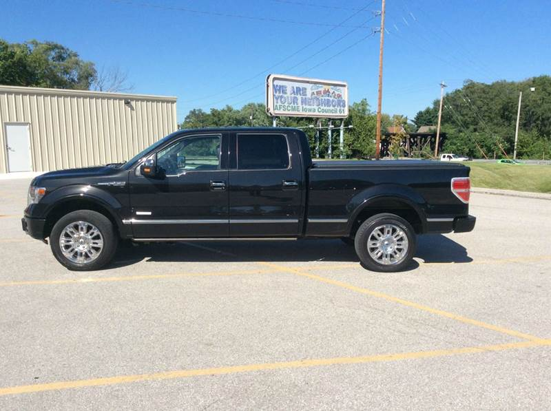 2013 Ford F-150 4x4 Platinum 4dr SuperCrew Styleside 6.5 ft. SB - Des Moines IA