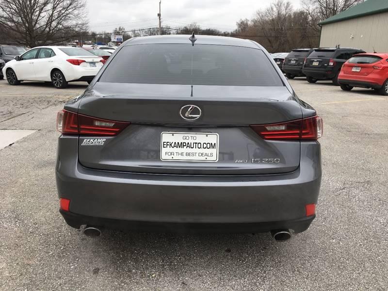 2014 Lexus IS 250 AWD 4dr Sedan - Des Moines IA