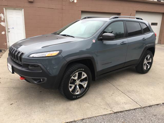 2014 Jeep Cherokee 4x4 Trailhawk 4dr SUV - Des Moines IA