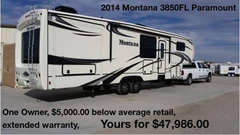 2014 Keystone Montana 3850FL