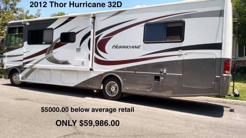 2012 Thor Industries Hurricane for sale at RV Wheelator in Tucson AZ