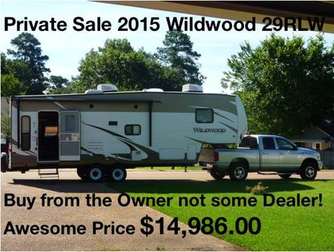 2015 Forest River Wildwood