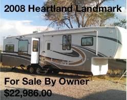 2008 Heartland Landmark for sale in North America, AZ
