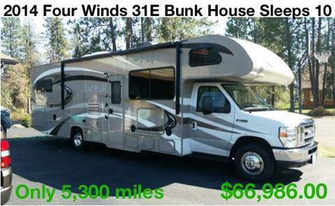 2014 Thor Industries Four Winds 31E BunkHouse for sale at RV Wheelator in North America AZ