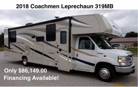 2018 Coachmen Leprechaun