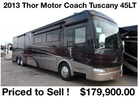 2013 Thor Industries Tuscany 45LT