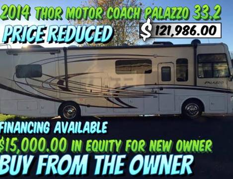 2014 Thor Industries Palazzo 33.2 for sale at RV Wheelator in North America AZ