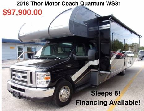 2018 Thor Industries Quantum WS31