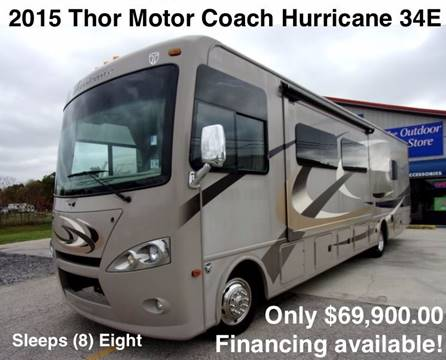 2015 Thor Industries Hurricane