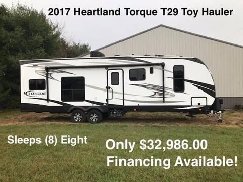 2017 Heartland Torque Toy Hauler
