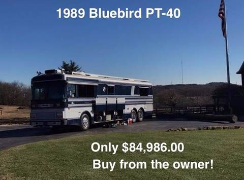 1989 Blue Bird PT-40