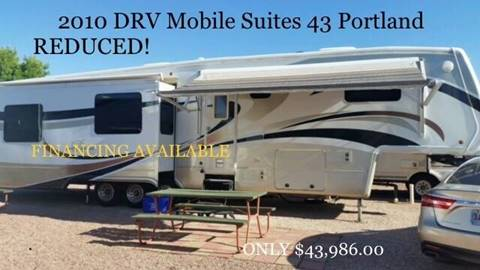 2010 DRV Mobile Suites