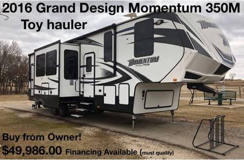 2016 Grand Design Momentum 350M