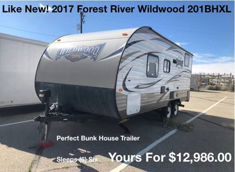 2017 Forest River Wildwood 201BHXL